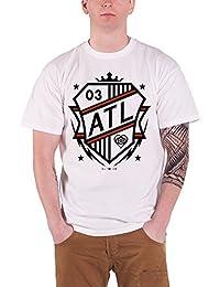 All Time Low Shield logo officiel Homme nouveau Blanc T Shirt