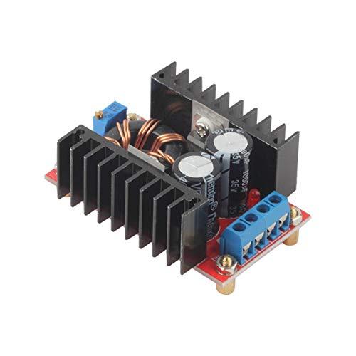 Professioneller 150W DC-DC-Aufwärtswandler 10-32V bis 12-35V Steigern Sie das Ladegerät-Leistungsmodul 16 Output Fuse