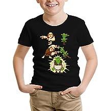 Parodie auf Shrek und Giant und Goblins von Clash Royale - Videospiel Jungen Kinder T-Shirt (894)