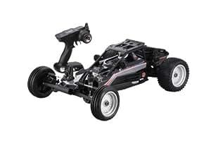 Kyosho - 30973T2 - Radio Commande, Véhicule Miniature et Circuit - Scorpion VE Readyset T2 2WD - KT201/2,4 Ghz - XXL - Noir