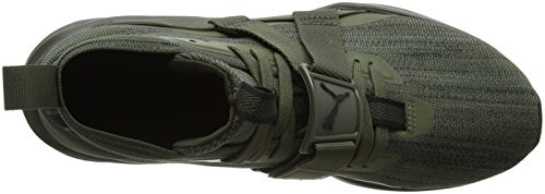 Puma Ignite Evoknit 2, Scape per Sport Outdoor Uomo Marrone (Forest Night-puma Black-quiet Shade)