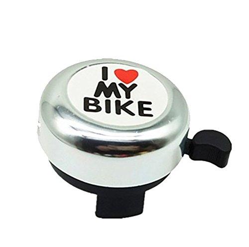 RUIX Fahrrad-Klingel Kinder Universal Niedlich,Silver