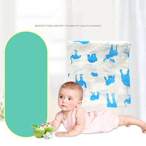 MagiDeal Baby Kinder Erstlingsdecke / Babydecke / Kuscheldecke 100x110cm - Farbe 4, 100x110cm