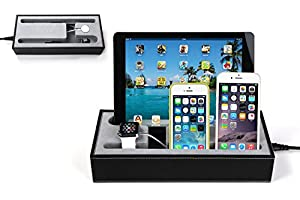 hapurs apple watch charging stand cradle halter u iphone ipad ladestation iphone ipad. Black Bedroom Furniture Sets. Home Design Ideas