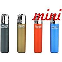 Clipper 67, metálico 2–Mini colección, pack de 4encendedores