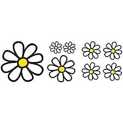 SIMONI RACING srs8Kit 8–diseño Margaritas, Juego de 8