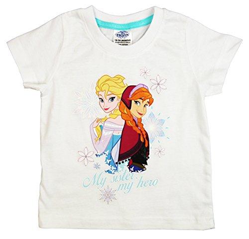 Disney-Frozen-My-Sister-My-Hero-Girls-T-Shirt-Age-18-Months-8-Years