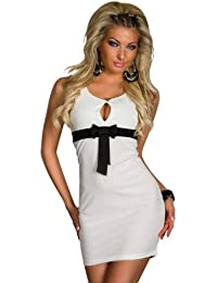4569 mini dress made from A Stretch fabric available in 5 Colours 2 Sizes