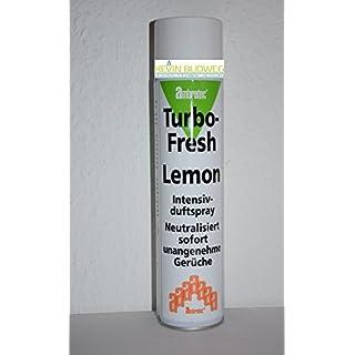 Ambratec Turbo-Fresh Intensivduftspray 200m³ Intensivespray Lemon 600ml Geruchsneutralisator