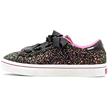 cb3f19e85fa637 Skechers Hi Lite Glitz N Glam Girls Glitter Band-up Trainer 35 EU Black  Glitter