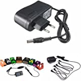 #3: EU Plug 9V 1A Guitar Effect Pedal Board Power Supply Adapter Stompbox