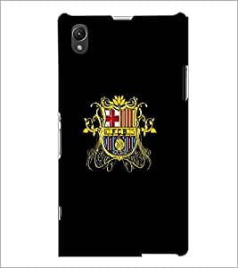 PrintDhaba Logo D-5562 Back Case Cover for SONY XPERIA Z1 (Multi-Coloured)