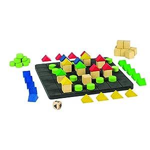 """GOKI- Juegos de acción y reflejosJuegos de mesaGOKIJuego """"Construir una casa"""" Plano B, Multicolor (1)"""