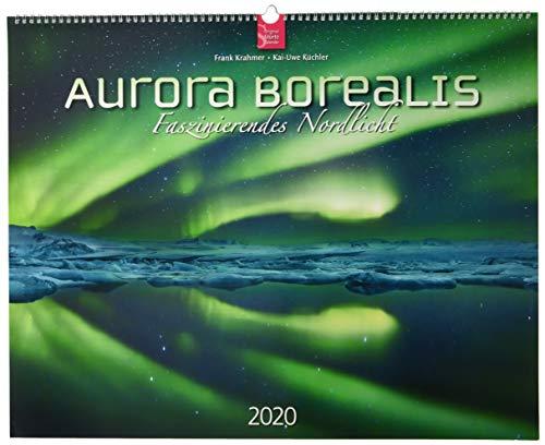 Aurora Borealis - Faszinierendes Nordlicht: Original Stürtz-Kalender 2020 - Großformat-Kalender 60 x 48 cm