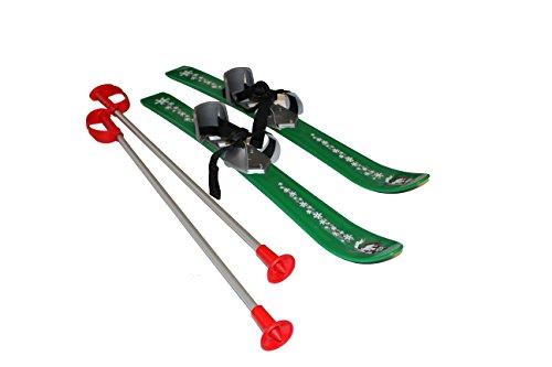 Sci Plastkon per bambini, 2012, Bambini, Ski BABY, verde, 90 cm
