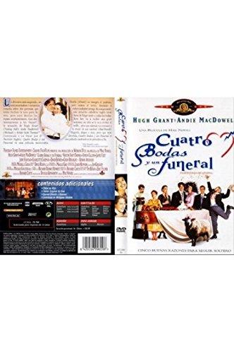 Vier Hochzeiten und ein Todesfall (Four Weddings and a Funeral, Spanien Import, siehe Details für Sprachen)