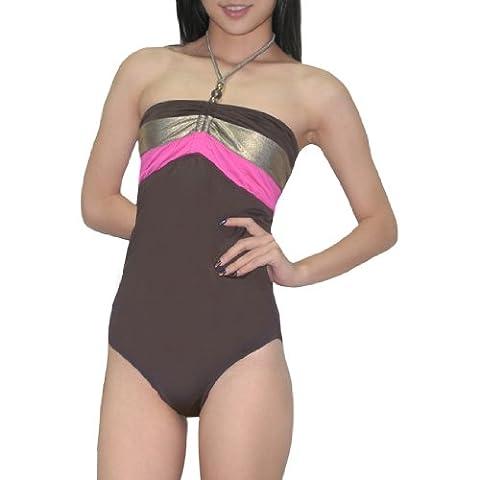 One-Piece Bademode: Old Navy Damen Glatte Dri-Fit Surf Swimsuit XXL