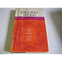 England, 1200-1640 (Sources of History)