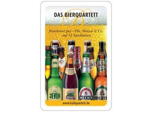 Pfiffig-Wohnen Bierquartett - Das lustige Bier Kartenspiel