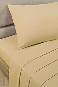 "NIYS Luxury Bedding Finest 100% Egyptian Cotton 9""/23CM Fitted Sheets"