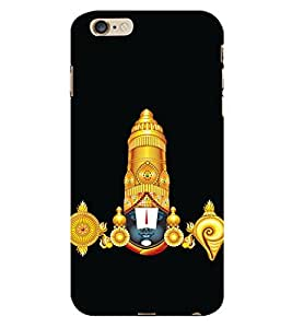 99Sublimation Lord Balaji Vaynktesh 3D Hard Polycarbonate Back Case Cover for Apple iPhone 6S