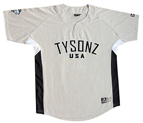 Bequemes Tysonz Kinder Baseball Jerseys Sport Kids T-Shirt Trikot Shirt Outdoor Shirt verschiedene Ausführungen (XL (158/164, BBS10)