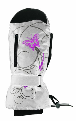 Seirus Innovation Jr HP Schmetterling Mitt, Damen Herren, Cream/Gray/Fsa (Mitt Jr)
