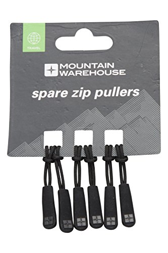 Mountain Warehouse Spare Zip Pullers - 6 Pk