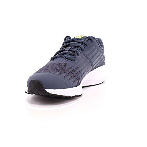 Nike Damen, Sneaker, MD Runner 2 thunder blue/volt