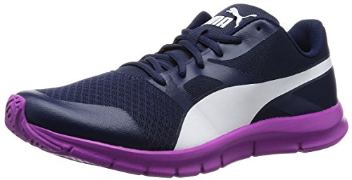 PumaFlexracer - Zapatillas Unisex adulto, color Azul - Blau (peacoat-w