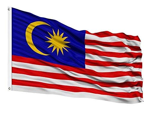 DFLIVE Länderflagge Asien Malaysia