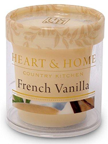 French Vanilla Profumo: Blissful con candela profumata in cera di soia (5x 5,5cm)