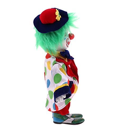 ween Clown Puppen Clownmann Minipuppe Dekofigur, Kreative Geschenke für Kinder und Erwachsene - # 4 ()