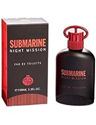Real Time Eau de Toilette pour Homme Submarine Night Mission 100 ml