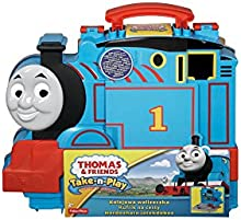 Thomas and Friends - Maletín y pista para locomotor Fisher-Price (Mattel CDN10)
