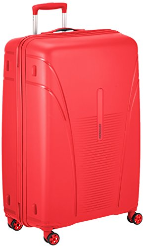 American Tourister Durchläufer Koffer, 82 cm, 120 L, Formula Red (American Koffer Tourister)