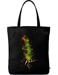 Dailyobjects Tote Bag Light It Up Carry All Bag With Photo Quality Design, Made Of Polyester Canvas With Soft...