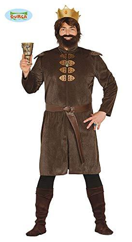 Ritter Kostüm für Herren König Herrenkostüm Karneval Fasching Märchen Gr. M-XL, Größe:M