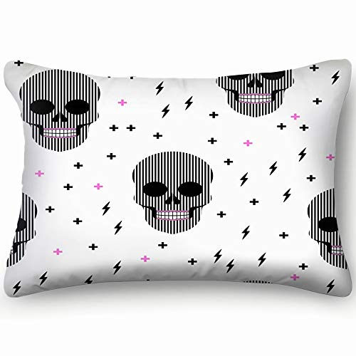 tos ace Holidays ace Holidays Cotton Linen Blend Decorative Throw Pillow Cover Cushion Covers Pillowcase Pillow Shams, Home Decor Decorations for Sofa Couch Bed Chair 20x30 Inch ()