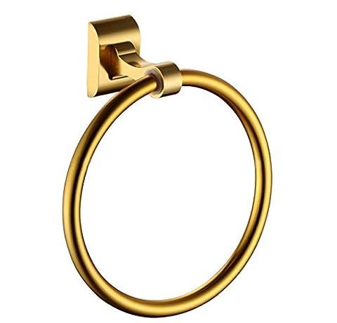 DLBAN Handtuchring Bad-Accessoires Badetuch Ring Handtuch Kreis Im Europäischen Stil Im Amerikanischen Stil Gebürstet
