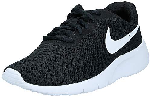 Nike Tanjun Gs, Zapatillas de Gimnasia Unisex Niños, Negro Black/White/White, 35.5 EU