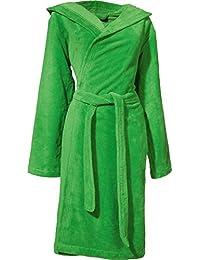 Erwin Müller bathrobe Heidenheim terry green size XS 40659d5c9