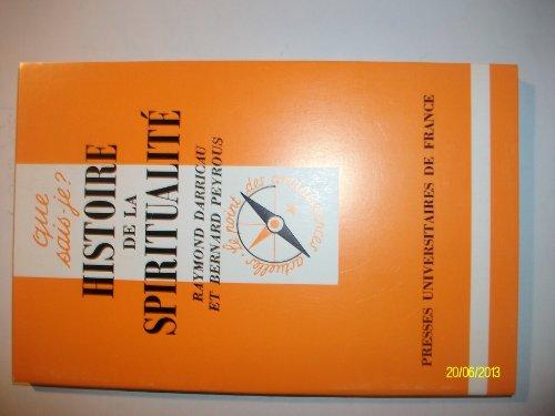 Histoire de la spiritualité par Raymond Darricau, Bernard Peyrous