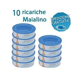 Angelcare Captiva - Ersatzkassetten 10 Stück Sparpack