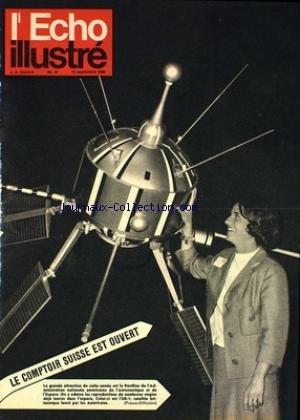 ECHO ILLUSTRE SUISSE (L') [No 37] du 15/09/1962