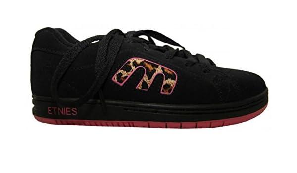 Etnies Skateboard Callicut Black/Pink/Tiger design Etnies Shoes, shoe size:34