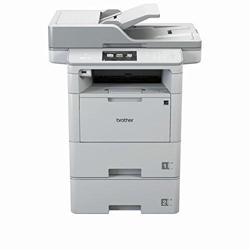 Brother MFC-L6800DWT A4 MFP mono Laserdrucker (46 Seiten/Min., Drucken, scannen, kopieren, faxen, 1.200 x 1.200 dpi, Print AirBag für 750.000 Seiten)