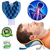 KASQA Coussin Cervical pour soulager la Douleur du Cou et des épaules Appareil de...