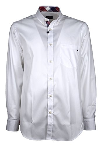 Paul & shark uomo camicia bianco button down con taschino p17p3472 010-24097 - 40