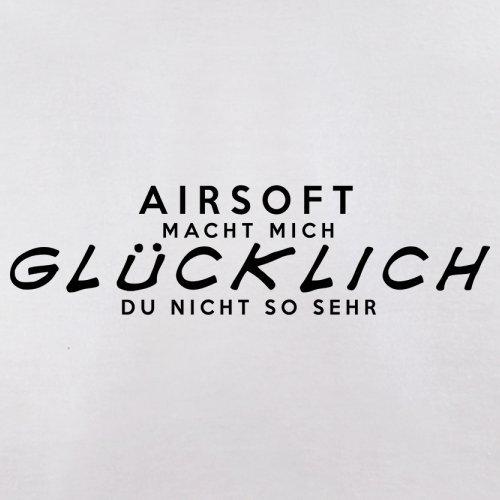 Airsoft macht mich glücklich - Herren T-Shirt - 13 Farben Weiß